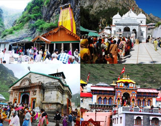 Char Dham Yatra with Amritsar Tour